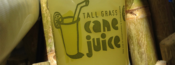 Tall Grass Cane Juice - Fresh Cane Juice